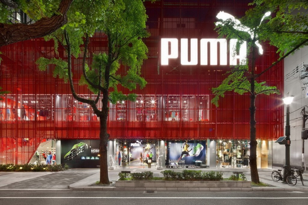 Puma Brand Store Osaka (Quelle: Die Photodesigner.de, Ken Schluchtmann)